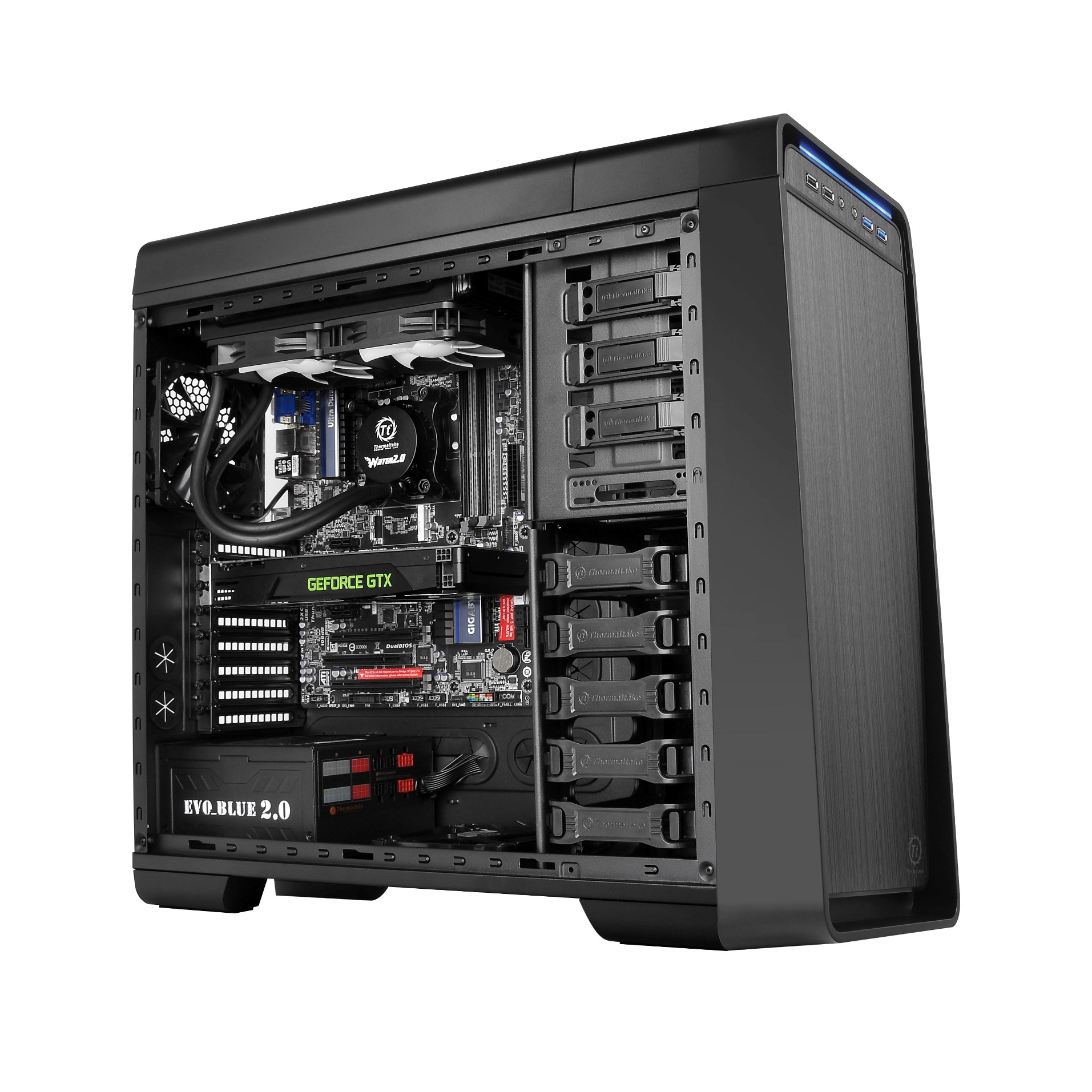 Thermaltake Urban S71 Full-tower Chassis with greater spacious interior