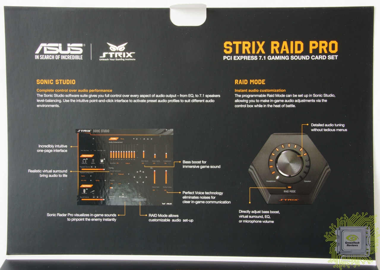 Обзор звуковой карты ASUS STRIX RAID Pro