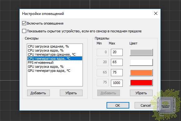 Обзор программы FPS Monitor