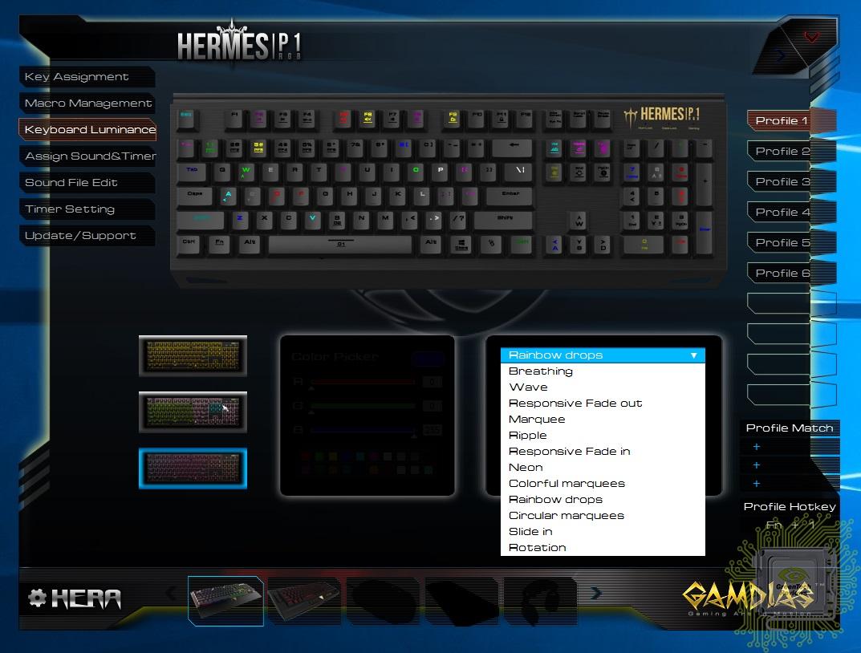 assign keyboard keys