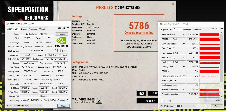 Обзор видеокарты ASUS ROG STRIX GeForce RTX 2070